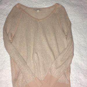 Rose Pink Loft Sweater